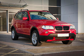 """bmw x3 2.0d SE """"57"""" plate * 6 speed manual* low miles * excellant condition"""
