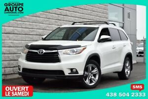 2014 Toyota Highlander *LIMITED*CUIR*AWD*NAVIGATION*7 PASSAGERS*