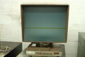 Microfiche Reader - Alos 27.14