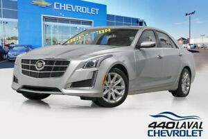 2014 Cadillac Berline CTS awd LUXURY toit ouvrant systeme bose