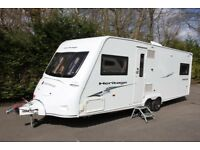 Fleetwood Heritage 640 ES 2008 4 Berth Fixed Single Beds Caravan + Motor Movers