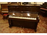 Weber over strung upright piano - Plays very well - Tuned and UK delivery is available