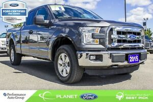2015 Ford F-150 XLT FORD CERTIFIED LOW RATES & EXTRA WARRANTY