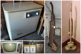 Vintage Appliances including Rolls `Rapide' / mid 1950's - 1970's