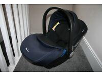 Silver Cross Simplicity baby car seat - navy blue / black 0-13 kg