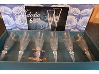 Melodia Champagne Flutes
