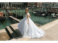 Wedding dress, size Uk8