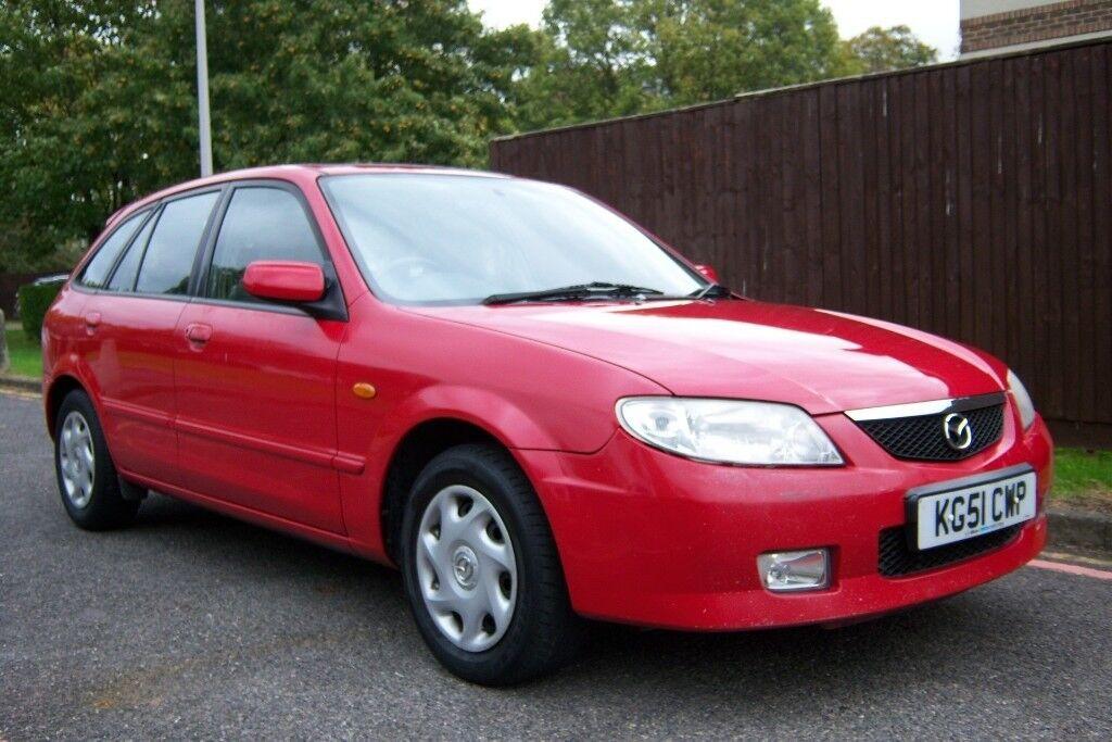 2001 MAZDA 323 1.6 AUTO, 12 MONTHS MOT, 1 OWNER, 58.000 MILES,