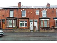 620 Liverpool Road, Wigan. 2 bed mid terrace with GCH & DG, fitted kitchen. LHA welcome