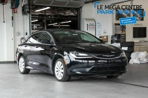 2016 Chrysler 200 LX GROUPE ELEC, MAGS, BTH