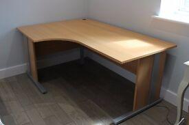 Wood Effect Veneer Desk