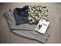 Maternity bundle size 12/14 dress tights top shirt