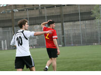 Football players wanted: Training (UEFA B coach) 8.30pm Wednesday! Sunday Games