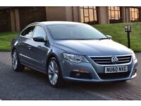 2010 Volkswagen Passat CC 2.0 TDI GT FULL 5 SEAT LEATHER SAT NAV TIMING BELT & WATER PUMP DONE