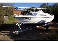 Trailer Sailer Sailing Boat - Seahawk 17, with trailer
