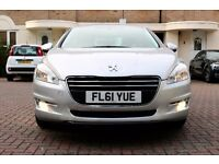 PEUGEOT 508 1.6 VTI 120 ACCESS AUTOMATIC 4 DOOR SALOON FSH HPI CLEAR 2 KEYS EXCELLENT CONDITION