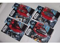 4 x STAR WARS Rogue One /Rebels figures BODHI ROOK / SABINE WREN / JYN ERSO GROUND CREW / K-2SO -NEW