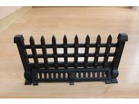 Fire Grate Fret Black Cast Iron 18 inches