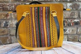 Leather Shoulder bags, hand made in India