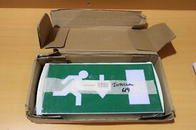 New Illuminated Emergency Fire Exit Sign Light