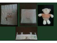 BARGAIN! I Love My Bear bedding set - in original package