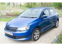 Priced to sell - Skoda Fabia S MPI in Race Blue , 6 months Man. Warranty, £20 tax