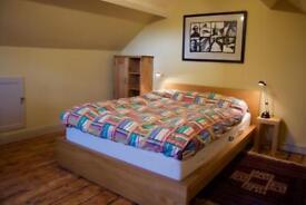SPACIOUS ATTIC BEDROOM IN QUIET RESIDENTIAL AREA