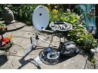 Maxview Caravan / Portable satellite system with Freesat receiver. Excellent Condition