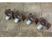Four pan tile roof vents £30 each