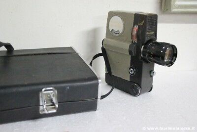 CINEPRESA VINTAGE SANKYO  8-CM CON ZOOM PRONON 8,5-26mm. f1,8.+ CUSTODIA