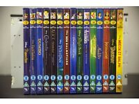 15 Disney classic collection dvds (( 2/3/4/12/13/14/17/18/19/20/21/22/24/27/51 ))