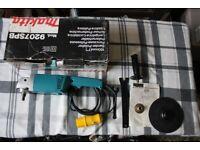 Makita 9207SPB 110v 180mm Polisher/Sander (New)