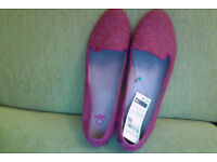 Benetton flats / shoes Brand new, never worn. Size 41