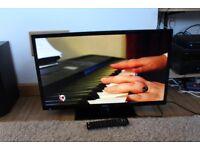 L@@K Bush 32 Inch LED TV Slim Line, Freevieew, 3xHDMI, USB