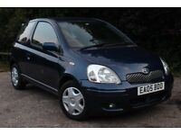 TOYOTA YARIS 1 LADY OWNER 4000 MILES FROM NEW - FULL TOYOTA HISTORY - AIR CON UPGRADE - LIKE NEW!