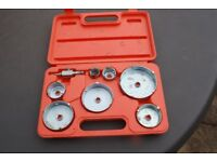 Hole cutter set ranging from half inch up to two inches