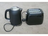 Kettle (cordless) & Toaster set