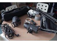 Elinchrom D-Lite RX 2/2 softbox/umbrella set to go