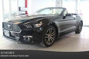 2016 Ford MUSTANG 2.3L EcoBoost DÉCAPOTABLE *GPS + CUIR *