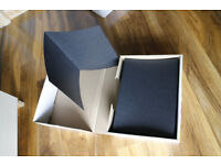 Box of 49 12x8 portrait quality strut mount folders - spicer hallfield advanta
