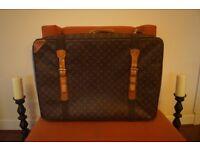 Authentic vintage Louis Vuitton soft sided suitcase - Satellite 70'
