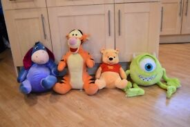 Disney Winnie and Pooh, Mike big soft toys