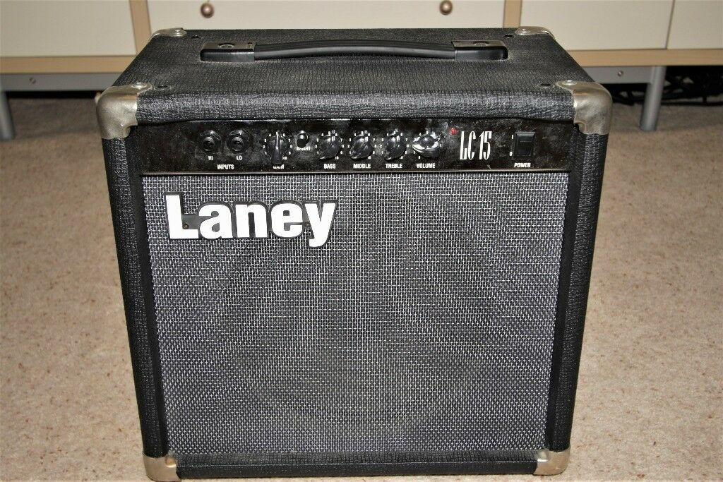 Laney LC15 combo guitar amplifier, Marshall voiced, excellent condition