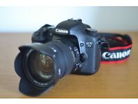 Canon EOS 7D + Sigma 17-50mm f2.8 Lens + Accessories