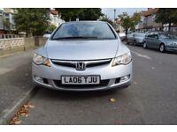 Honda Civic 1.3 IMA Hybrid ES 4dr 2006 06 Reg FSH & Full MOT Genuine Mileage 56000 Road Tax only £10