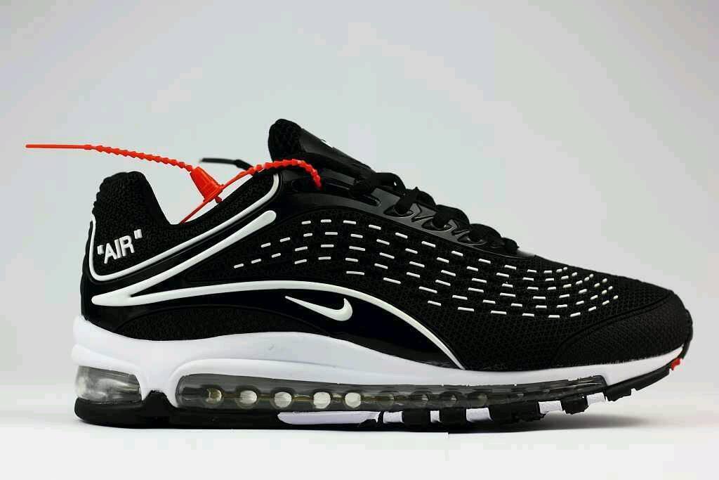 02d29966807    Brand New Nike Air Max 99 Deluxe OG Plus 97 95 Black White ...