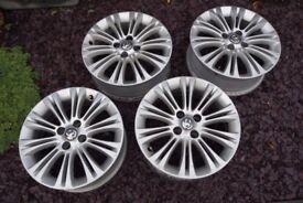 Vauxhall Corsa Alloy Wheels.