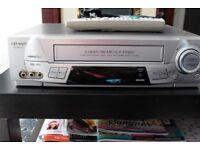 Sharp VHSHQ Video Recorder