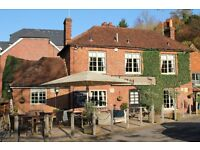 Live In Kitchen Couple Required for a Beautiful Countryside pub near Godalming / Guildford