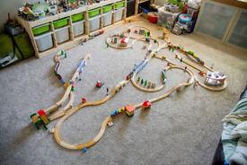 Brio & Other Wooden Train Track + RC Train